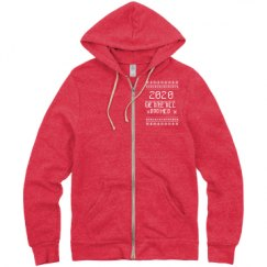Unisex Eco-Fleece Rocky Full Zip Hoodie