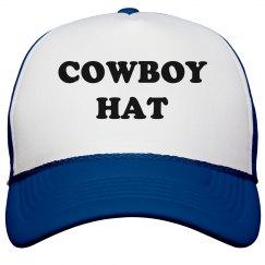 Funny Snapback Cowboy Trucker Hat