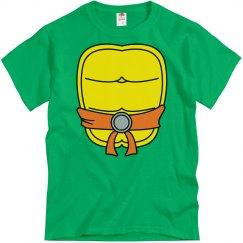 Orange Turtle Group Costume