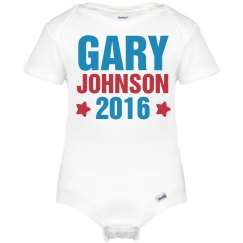 Gary Johnson 2016 Onesie