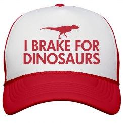 I Brake For Dinosaurs