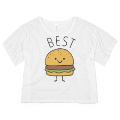 Fries And Friends Cute Burger