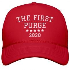 America's First Purge Parody Hat