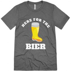 Here For The Bier