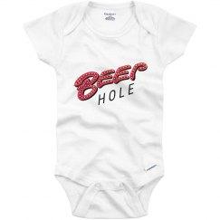 Beep Hole Onesie