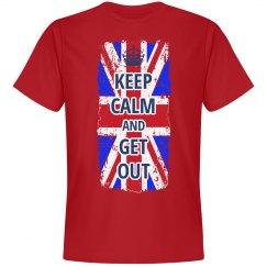 Brexit Keep Calm UK Leaving EU