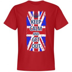 Brexit Keep Calm UK Leaving EU