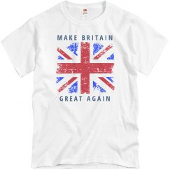 Brexit Shirt Make Britain Great