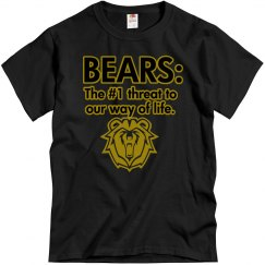Bears: #1 Threat - Black