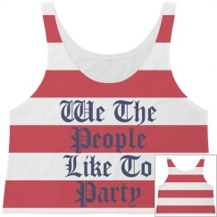 We The People Party All Over Print