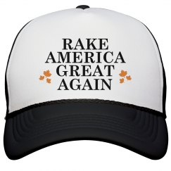 Rake America Great Black Cap