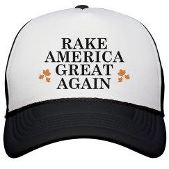 Rake America Great Black Cap