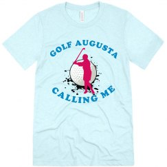 Golf Augusta Tournament Tshirt
