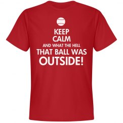 Keep Calm Ball Outside