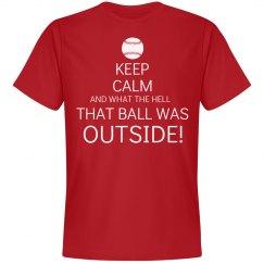 Keep Calm Ball Outside