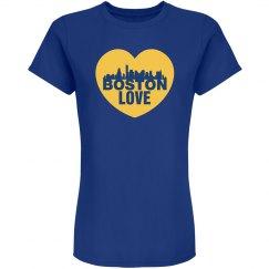 Boston Love Heart