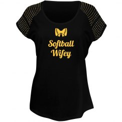 Softball Wifey Tshirt