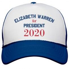 Elizabeth Warren 2020 Cap
