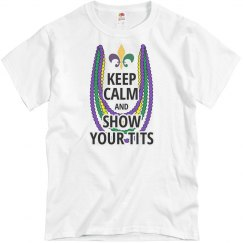 Keep Calm Mardi Gras T-Shirt