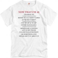 40th Birthday Shirts More