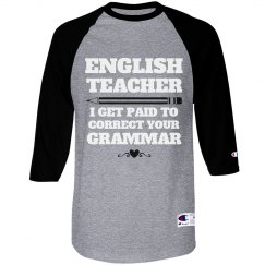 English Teachers Love Grammer