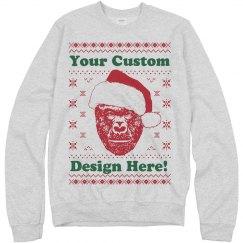 Custom Harambe Christmas Gifts
