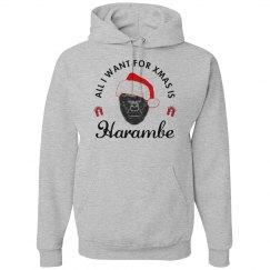 Harambe Hoodie For Christmas