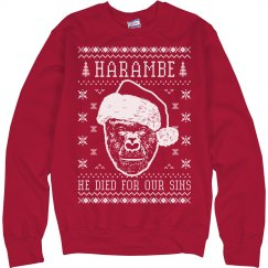 Harambe Sweater Died For Our Sins