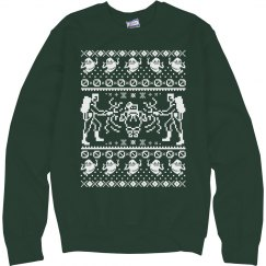 Ugly Ghost Sweater