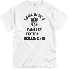 0 Out Of 10 Fantasy Football Skills