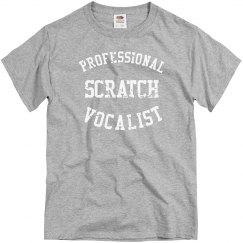 PROFESSIONAL SCRATCH VOCALIST