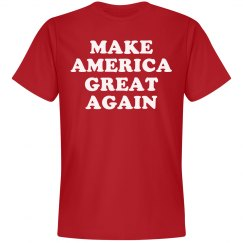 America Great Again Red