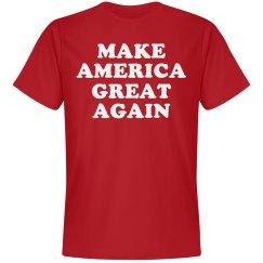 America Great Again Red
