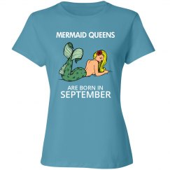 Mermaid Queens are born in September