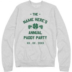 Customizable Annual Paddy Party