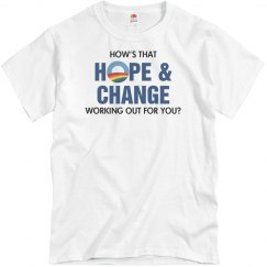 How's That Hope & Change?