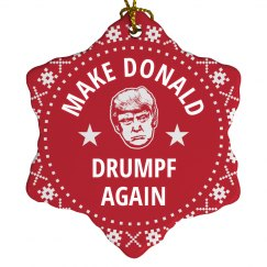 Festive Make Donald Drumpf Again