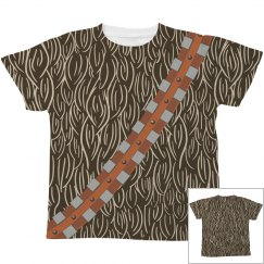 Harry Wookie All Over Print Costume
