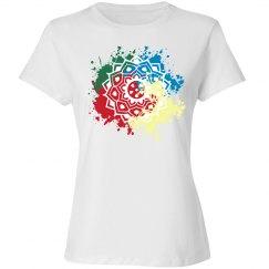 Paint Splat Flower