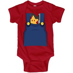 Power-Up Overall Onesie