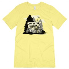 Parks and Rec Tee Yellow