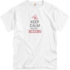 keep calm & go riding