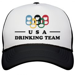 Drinking Team Neon Hat