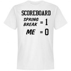 Spring Break Scoreboard