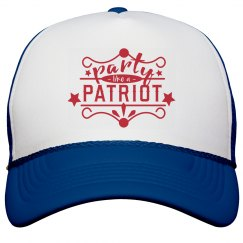 Party Patriot July 4th Snap Back