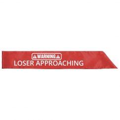 Fantasy League Loser Sash