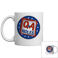 Q&A Holes Coffee Mug