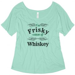 Frisky With Whiskey Girl