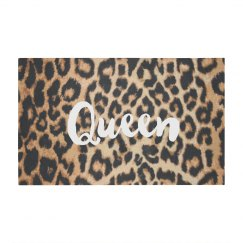 Queen Leopard Print Pattern