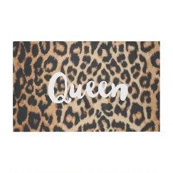 Queen Leopard Print Pattern